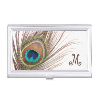 Tenedor de la tarjeta de visita de la pluma del pa caja de tarjetas de presentación