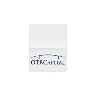 Tenedor de la tarjeta de visita de OTR