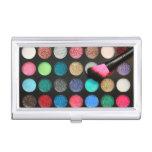 Tenedor de la tarjeta de visita del maquillaje cajas de tarjetas de presentación