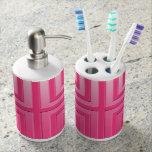 Tenedor del cepillo de dientes y dispensador del j