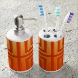 Tenedor del cepillo de dientes y Sistema-Naranja d