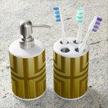 Tenedor del cepillo de dientes y Sistema-ORO del d