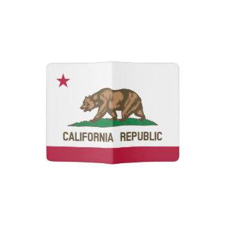 Tenedor del pasaporte de la bandera de California Porta Pasaporte