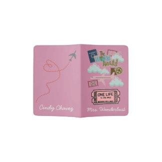 Tenedor del pasaporte porta pasaporte