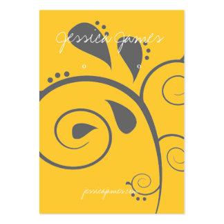 Tenedor del pendiente - tarjeta de visita |sworldy