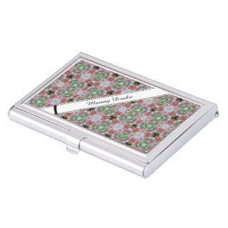 Tenedor modelado coloreado de la tarjeta de visita cajas de tarjetas de visita