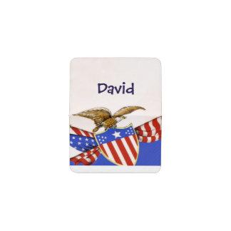 Tenedor personalizado vintage de la tarjeta de