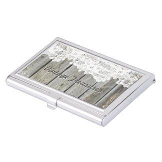 Tenedores personalizados madera de la tarjeta de cajas de tarjetas de negocios