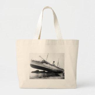 Tenemos despegue 1910 bolsa lienzo