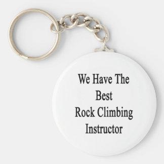 Tenemos el mejor instructor de la escalada llavero personalizado