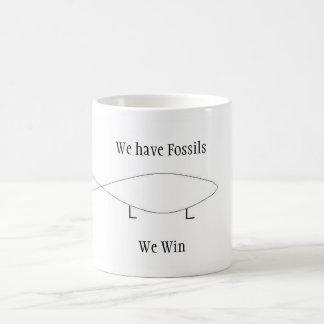 Tenemos fósiles taza clásica