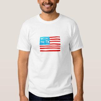 Tenemos gusto de la Camiseta-v Camisas