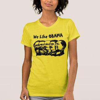 Tenemos gusto de OBAMA Camisetas