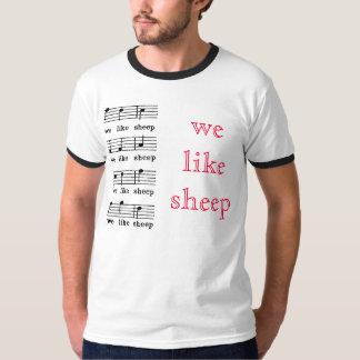 Tenemos gusto de ovejas playera