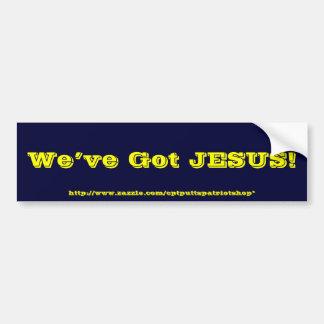 ¡Tenemos JESÚS! Pegatina Para Auto