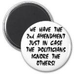 Tenemos la 2da enmienda apenas en caso imán de nevera