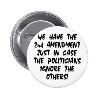 Tenemos la 2da enmienda apenas en caso pins