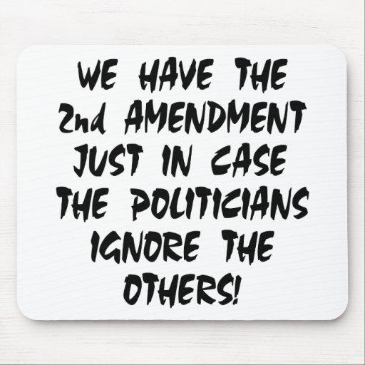 Tenemos la 2da enmienda apenas en caso tapetes de raton