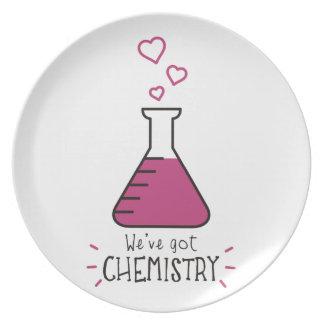 Tenemos química plato de comida