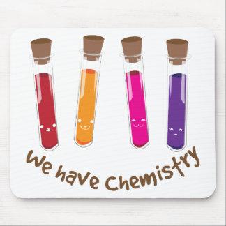 Tenemos química alfombrilla de ratón