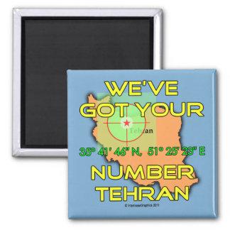 Tenemos su número Teherán Imán Cuadrado