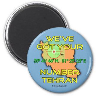 Tenemos su número Teherán Imán Redondo 5 Cm