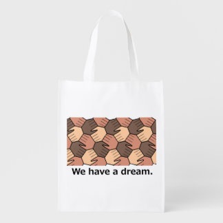 Tenemos un sueño bolsa reutilizable