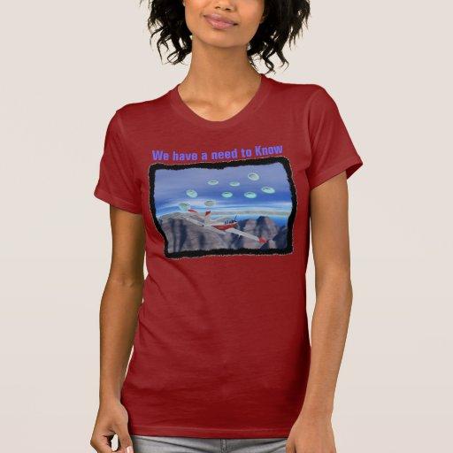 Tenemos una camisa para mujer de la necesidad