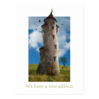 Tenemos una nueva dirección - invitación de la pos