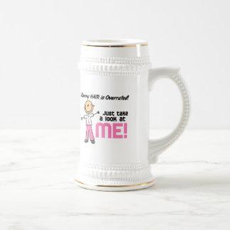 Tener figura sobrestimada pelo del palillo del cán tazas de café
