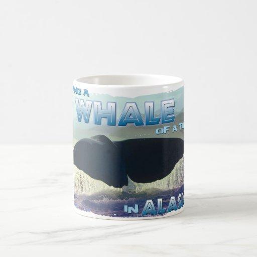 Tener una ballena de una época taza