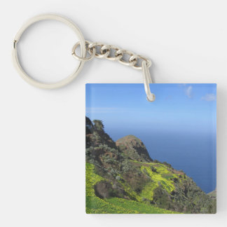 Tenerife 09.jpg Double-Sided square acrylic keychain
