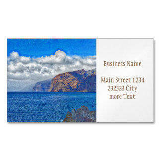 Tenerife 817 magnetic business card