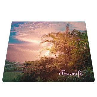 Tenerife, efecto impresionante lona estirada galerías