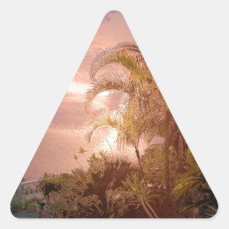 Tenerife, efecto impresionante calcomanías trianguloes