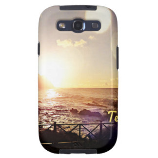 Tenerife Evening Lights Samsung Galaxy S3 Cover