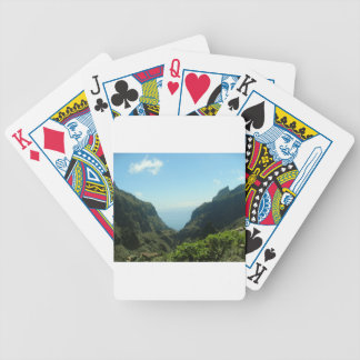 Tenerife Mount Teide Playing Cards