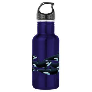 Tenerife Orcas Waterbottle 18oz Water Bottle
