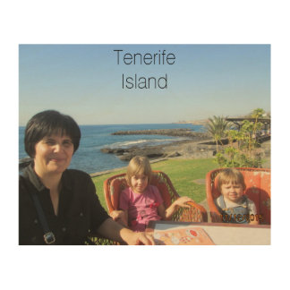 Tenerife Printed On Superior Quality Birch Wood Wood Print
