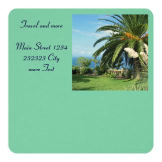 Tenerife soleado invitación 13,3 cm x 13,3cm