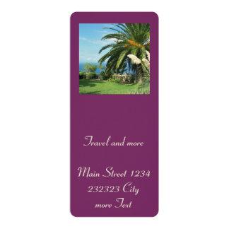 Tenerife soleado invitación 10,1 x 23,5 cm
