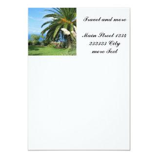 Tenerife soleado invitación 12,7 x 17,8 cm