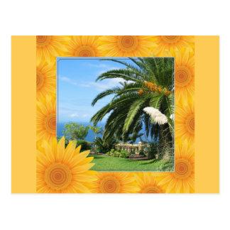 Tenerife soleado tarjeta postal