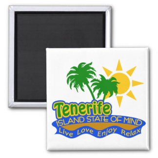 Tenerife State of Mind magnet