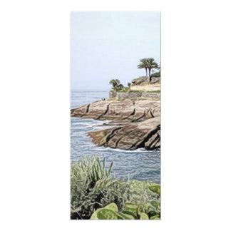 Tenerife, versión pintada invitación 10,1 x 23,5 cm
