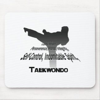 Tenets of Tae Kwon Do Mouse Pad