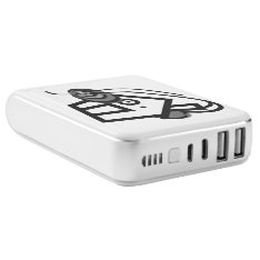 Tenfour 10400mah Power Bank By Origaudio, White at Zazzle