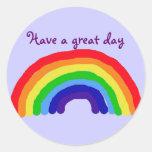 Tenga A.C. un gran pegatina del arco iris del día