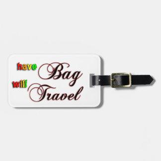 Tenga bolso viajará etiqueta del equipaje del aero etiquetas maleta