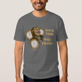 Tenga camiseta del tiempo poleras